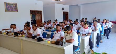 Kepala Desa se-Kabupaten Halmahera Timur Studi Banding di Desa Tajun