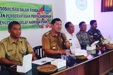 Diperlukan Sinergitas Pemerintah Desa dan Desa Pakraman dalam Pencegahan Penyalahgunaan Narkoba