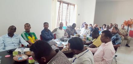 Asosiasi Lembaga Keuangan Mikro Ethiopia Studi Banding di BUMDesa Tajun