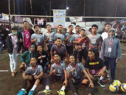 Himappta Lolos Babak 8 Besar Turnamen Bola Voli Pandan Sari U-20