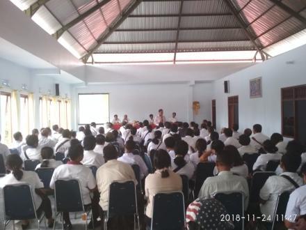 Ingin Bangun BUMDes, Tiga Desa di Kecamatan Penebel Studi Lapangan di Desa Tajun