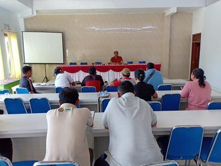 Perbekel Tajun Gelar Rapat Koordinasi Persiapan Kunjungan Ibu Gubernur Bali
