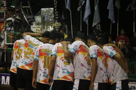 Himappta Ikuti Turnamen Buana Sakti Cup II