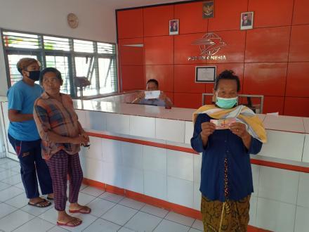 KPM BST Pemkab dan BST Disabilitas Terima Bantuan Tahap II