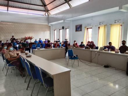 Webinar Pencanangan Pelaksanaan Program Desa Kerthi Bali Sejahtera.
